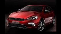Flagra: Fiat Ottimo é visto em traje esportivo na China