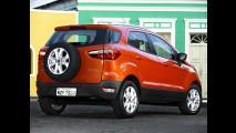 EcoSport continua sendo utilitário com o menor custo de reparação do Brasil