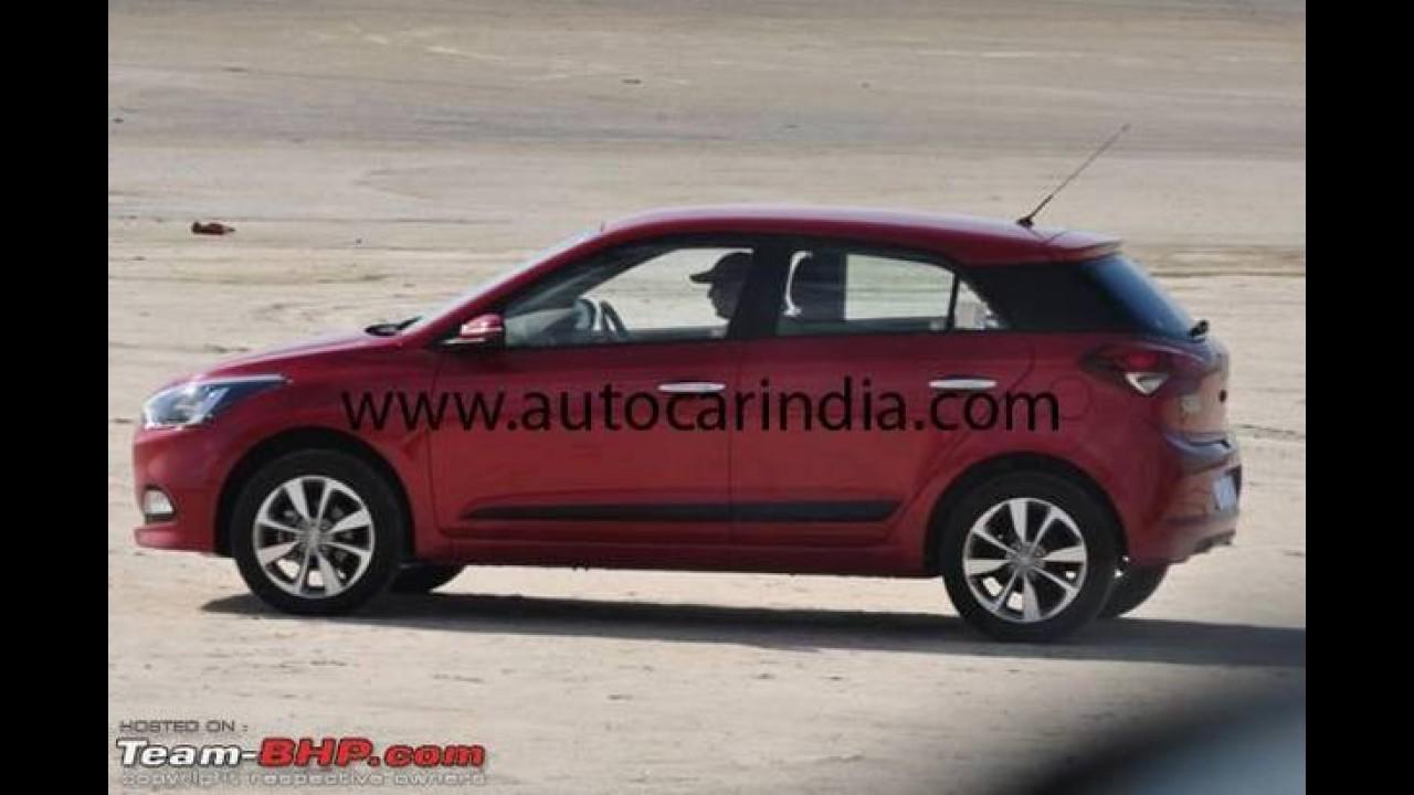 Flagra: irmão gringo do HB20, novo Hyundai i20 surge sem camuflagem