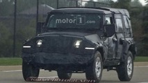 2018 Jeep Wrangler spy photos