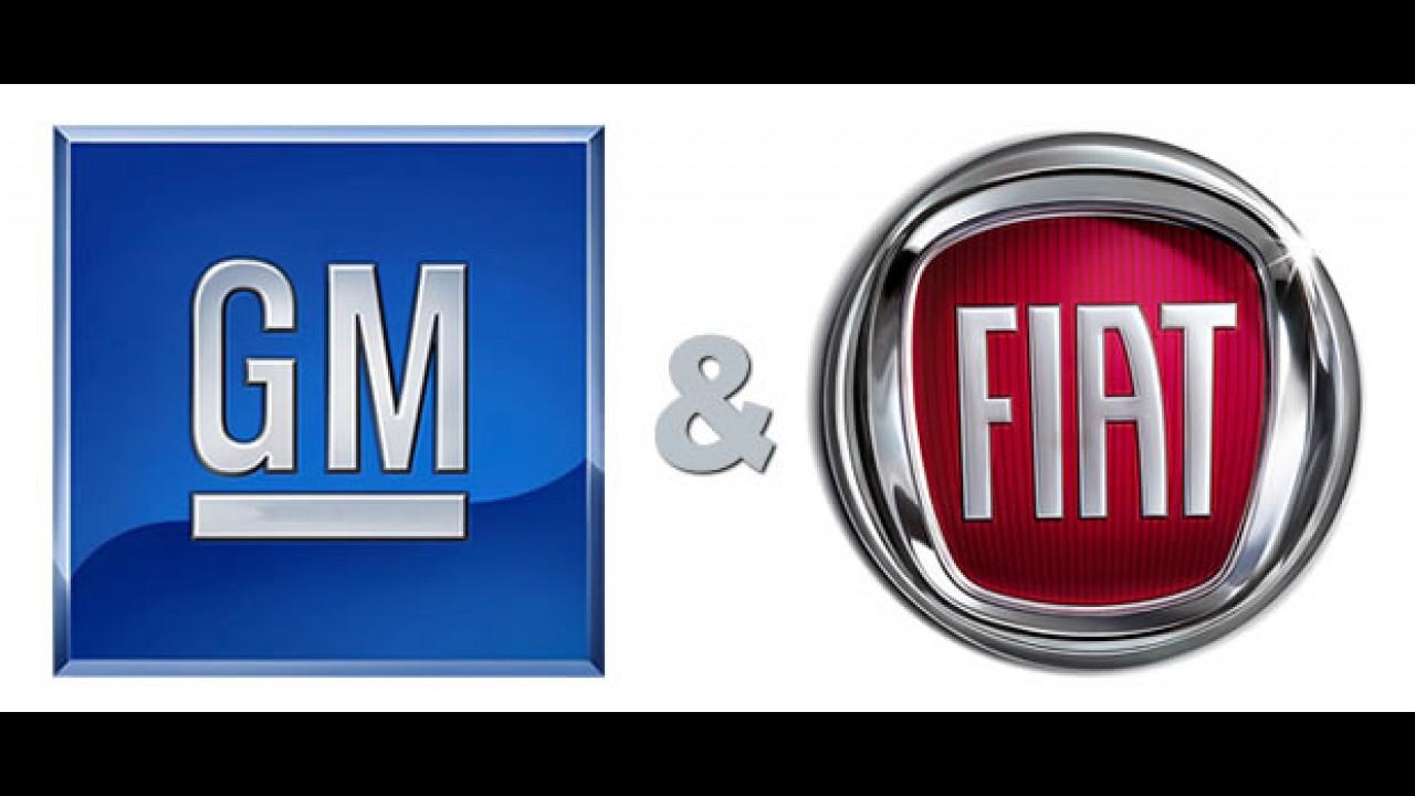 O mundo dá voltas: Fiat e GM podem se unir na Europa e América Latina