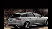 Flagra: Jaguar XF Sportbrake 2013