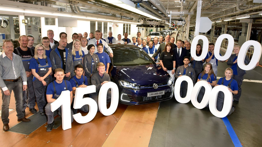 Volkswagen's 150 Millionth Car Just Happens To Be A Hybrid