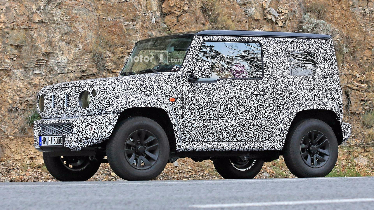 Next Gen Suzuki Jimny Spied Testing With Current Model