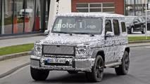 2018 Mercedes-Benz G-Class spied