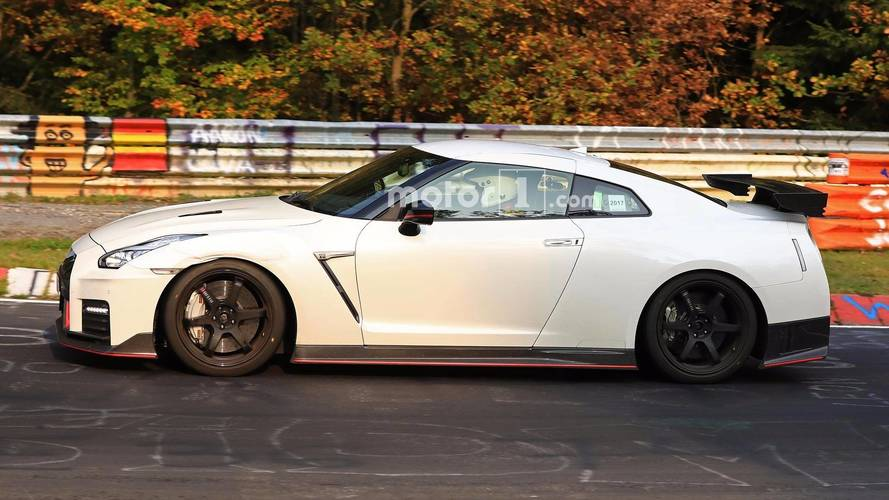 Nissan GT-R Nismo Spy Photos