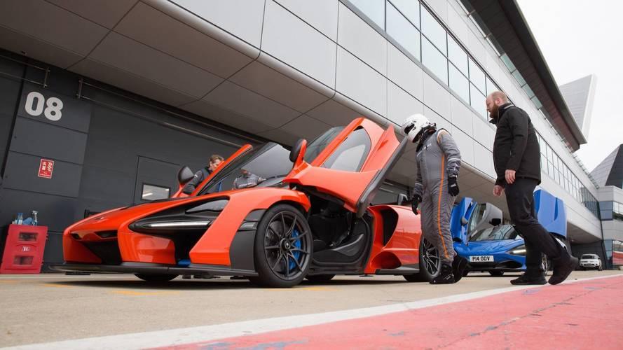 McLaren Senna 2018: Primera prueba