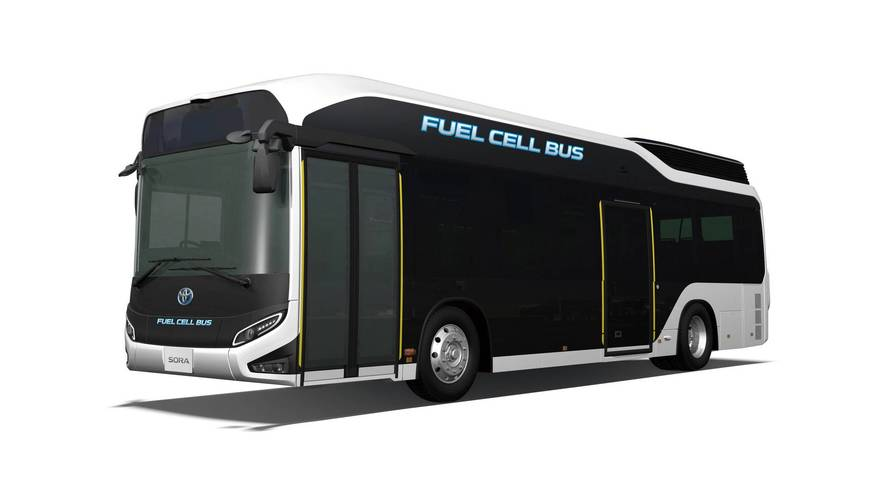Toyota Introduces Production Hydrogen Fuel Cell Bus Sora