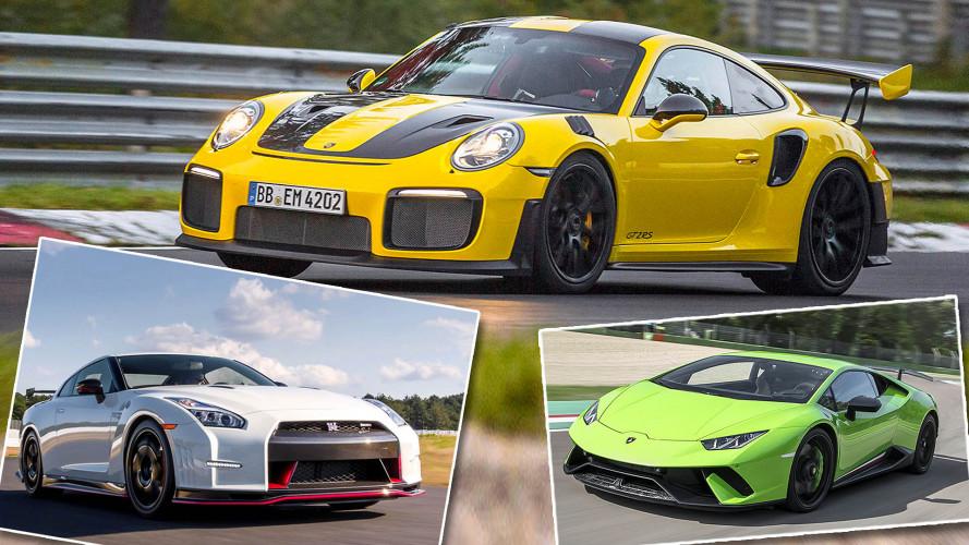 Nordschleife: Die schnellsten Autos