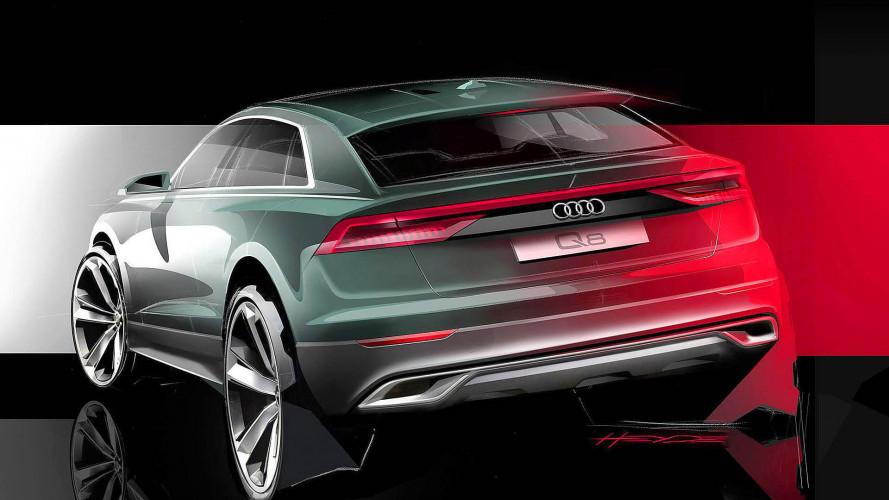 Der Audi Q8 zeigt sich