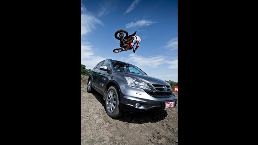 Honda CR-V vs Honda CRF 450R
