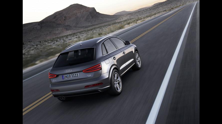 Audi Q3, prezzi da 30.600 euro