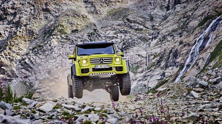 Október végéig rendelhető a 70 millió forintba kerülő G 500 4x42