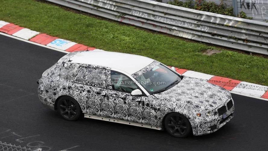 Next generation BMW 5-Series Touring spied testing at the Nurburgring