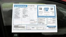 Honda - Acura Window Sticker