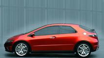 Honda Civic Concept at Geneva 2005