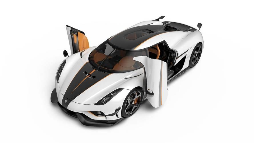 Koenigsegg présente ses Regera à Genève