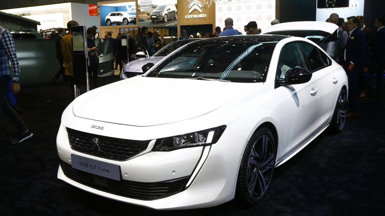 New 2018 Peugeot 508
