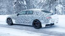 Mercedes-AMG GT Sedan'ın Karda Kamuflajlı Fotoğrafları