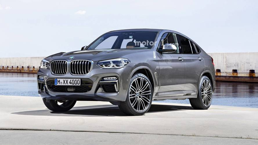 2019 bmw x4 render might as well be an official image. Black Bedroom Furniture Sets. Home Design Ideas