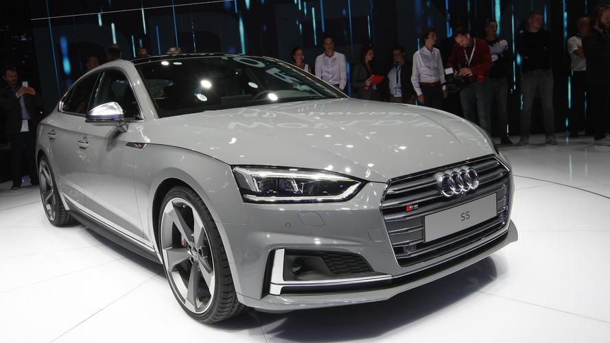 Audi S5 Coupe ve Sportback Paris'te şık gövdelerini sergiledi