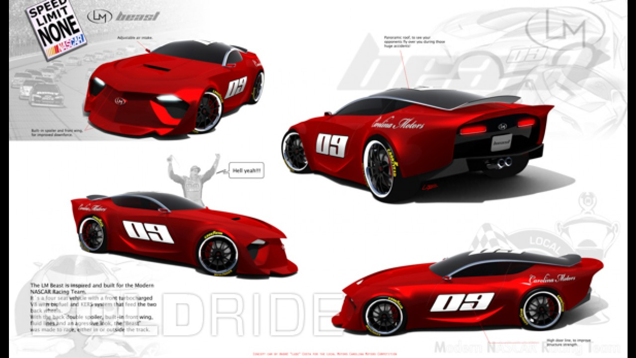 Local Motors Nascar Concept by Andre Costa