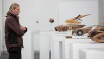 Achim Badstübner, Head of Audi Exterior Design, reviewing Audi Design UNIverse models 26.11.2012