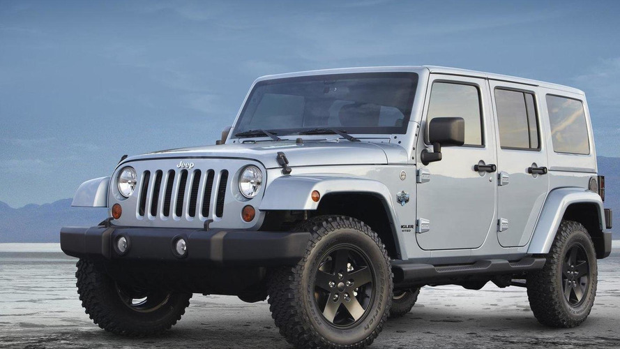 2012 Jeep Wrangler Arctic and Liberty Arctic special editions