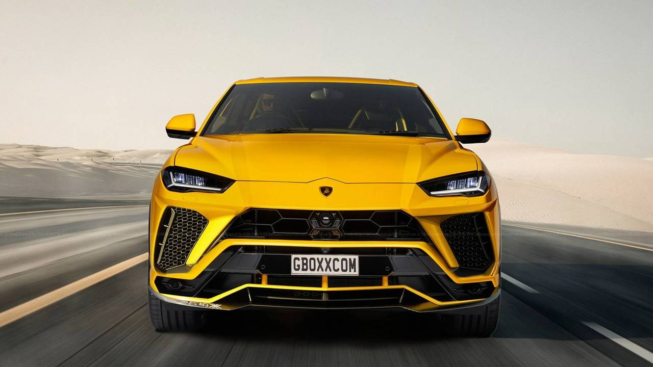 Lamborghini Urus Renders Motor1 Com Photos