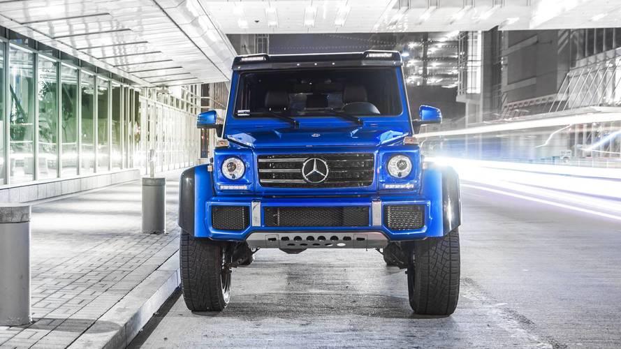 Mercedes benz g 550 4x4 2018 fotos for Mercedes benz 4 x 4