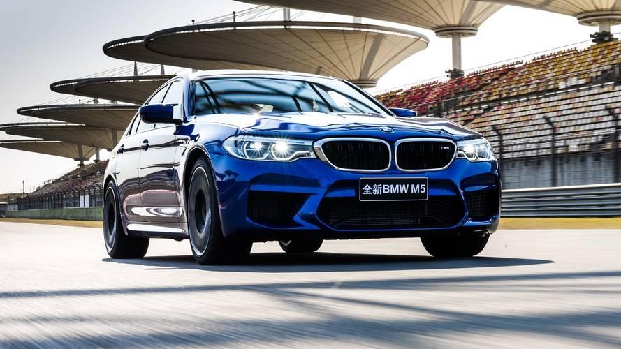 BMW M5 2018: la berlina más rápida en Shanghái