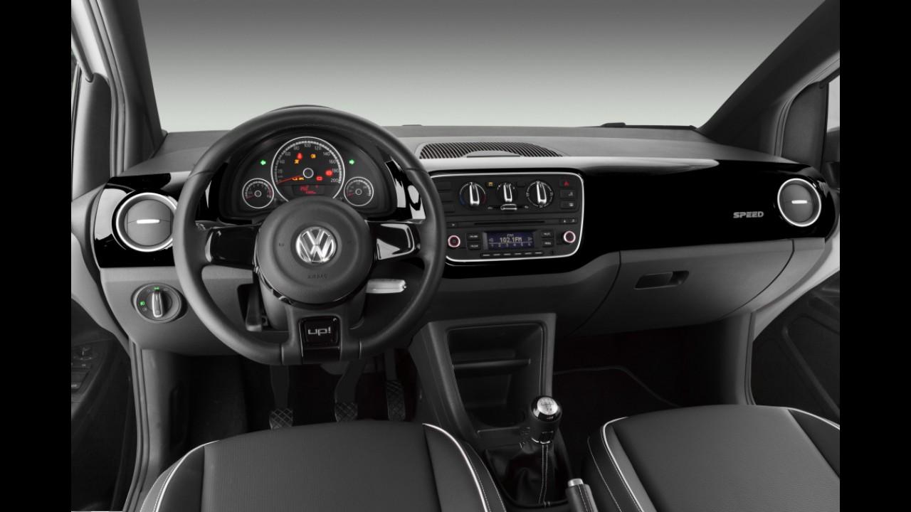 Motor 1.0 TSI já responde por 43% das vendas do VW up! no acumulado do ano