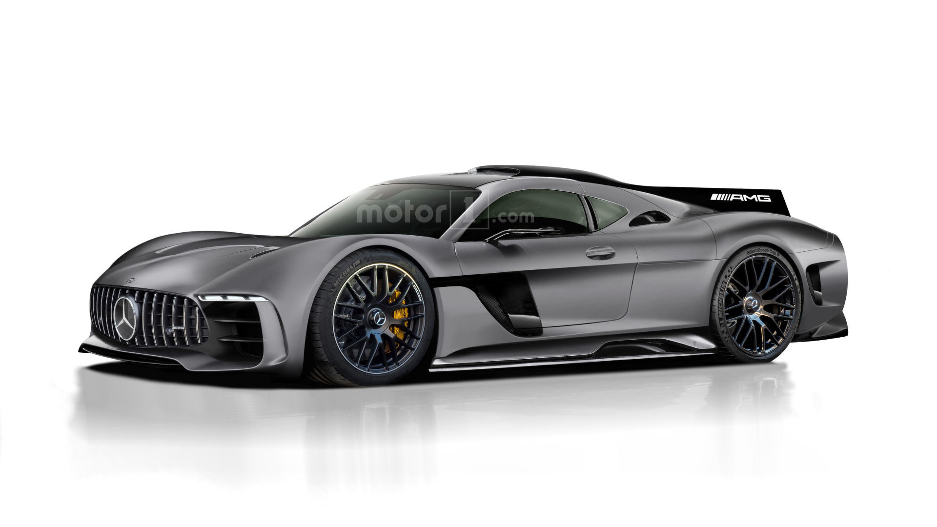 mercedes amg project one rendered as jaw dropping halo. Black Bedroom Furniture Sets. Home Design Ideas