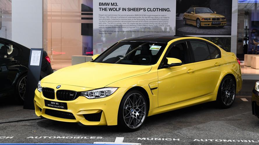 BMW M3 Heritage Collection, Competition Paketi ile görücüye çıktı