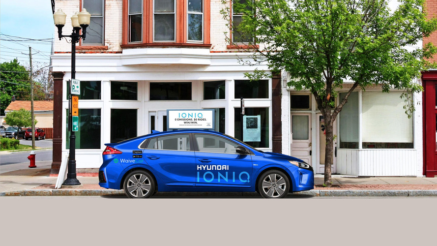 Borrow an Ioniq EV for free thanks to Hyundai's new car sharing deal