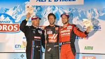 Romain Grosjean Trophée Andros Podium