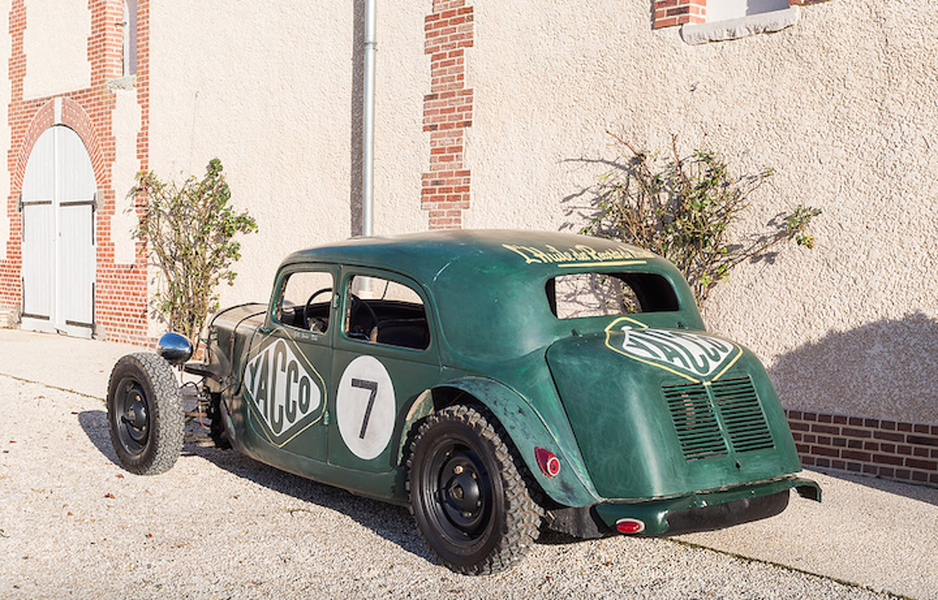 This Beautiful Citroen Race Car, Be the Coolest Guy at the Dirt Track