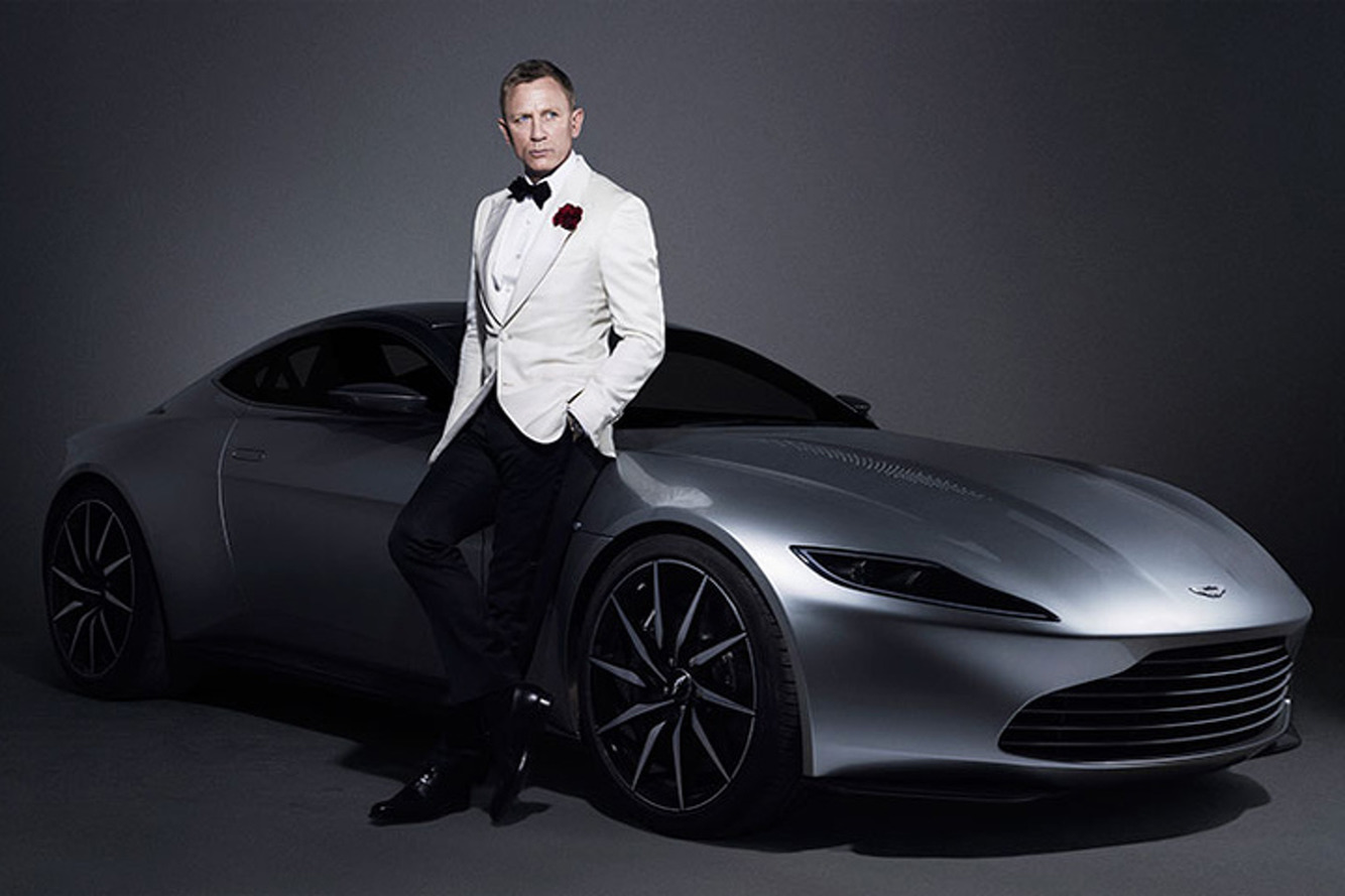 You Can Buy James Bond's Aston Martin DB10 from 'Spectre'