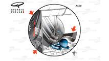 McLaren MP4/31 monkey seat, race version, Monaco GP