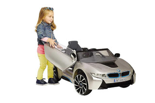 Make Your Kid Love You with this Fancy Driveable BMW i8 Mini-Car