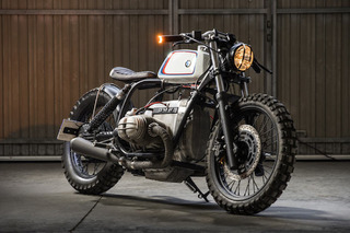 This Custom BMW R100 is a German Motorsport Dream