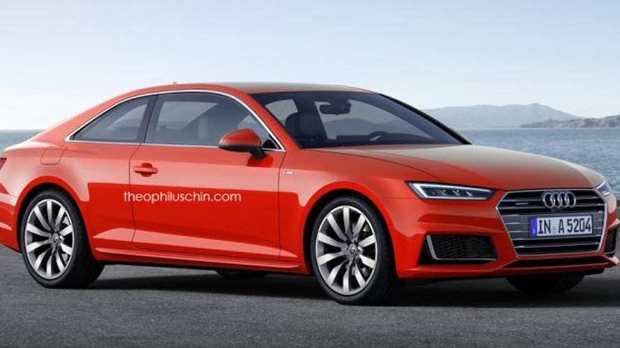 2017 Audi A5 Coupe renders show predictable design refinement