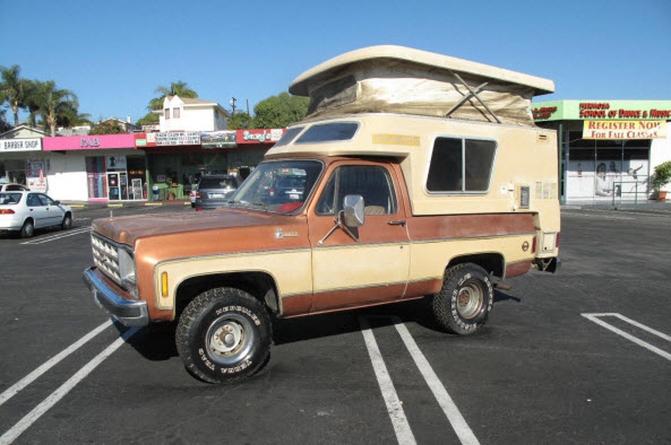 Auction Car of the Week: 1977 Chevy Blazer Chalet