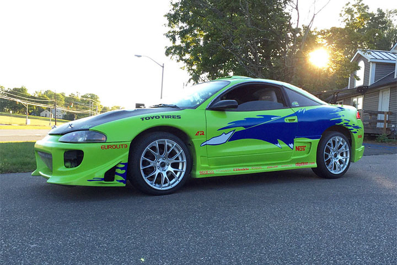 mitsubishi 3000gt fast and furious. fan turns mitsubishi eclipse into 3000gt fast and furious
