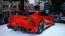 Toyota FT-1 concept live in Chicago