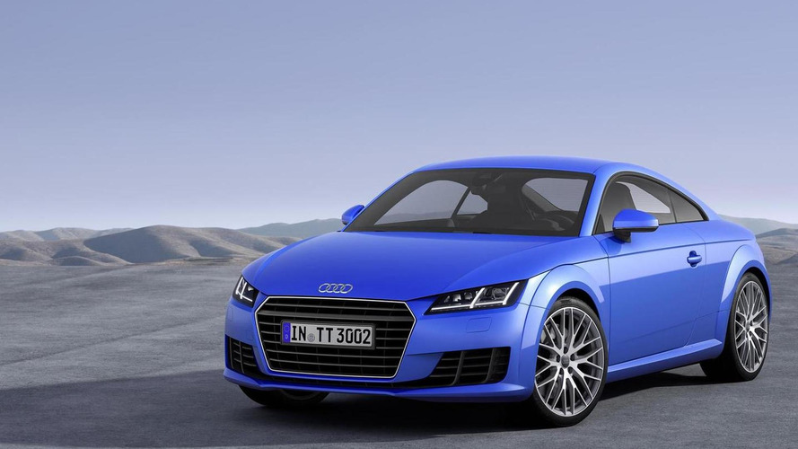 2015 Audi TT pricing announced (UK)