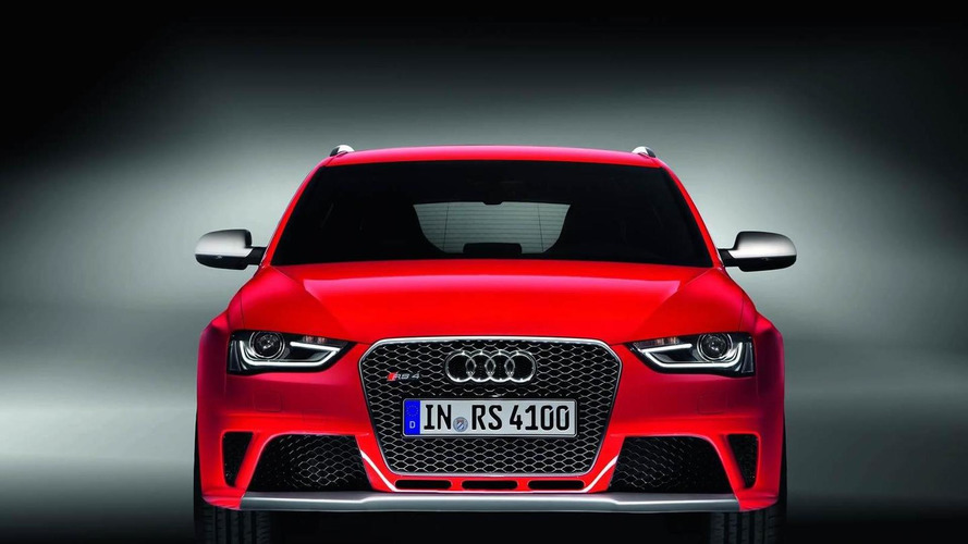 Audi RS4 Avant officially revealed