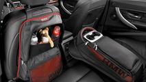 BMW 3 Series Sedan, backrest and storage bag, rear passenger compartment, Sport Line 17.02.2012