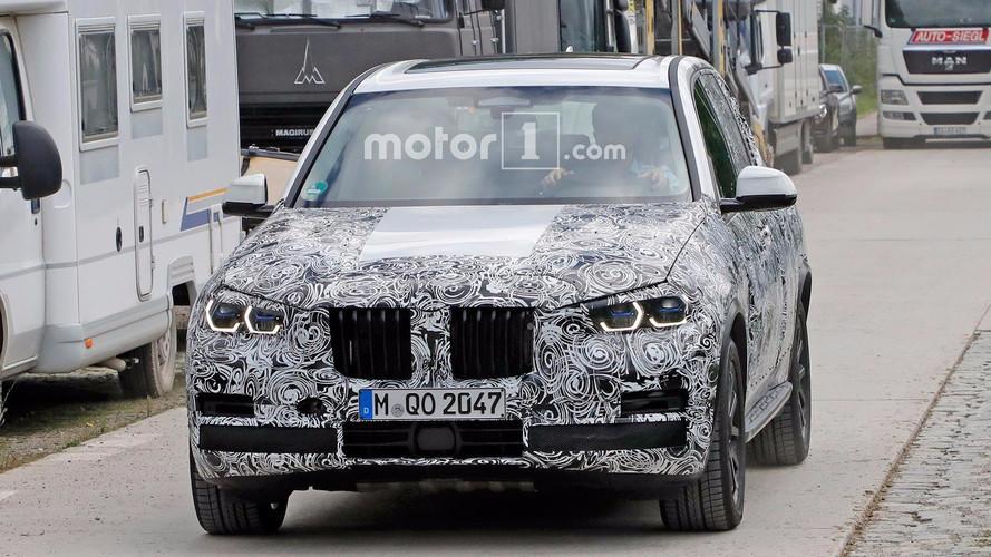 BMW X5 Headlight Spy Photos