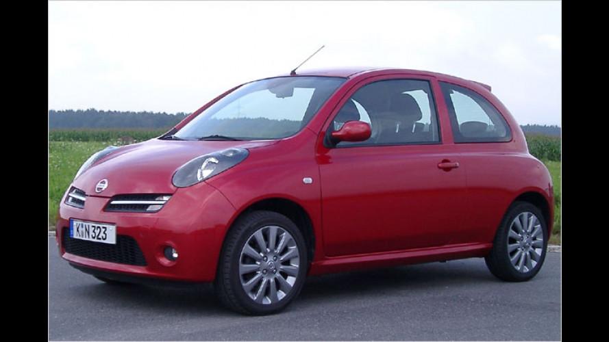 Nissan Micra 160SR: Kleiner Japaner mit 110 PS